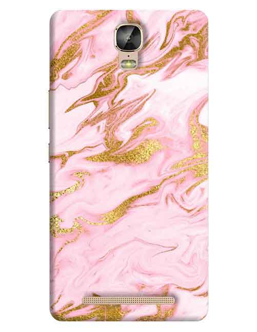Marble Gionee M5 Plus Mobile Cover
