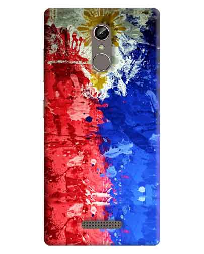 pretty nice 6a9d7 07dd0 Abstract Gionee S6s Mobile Cover