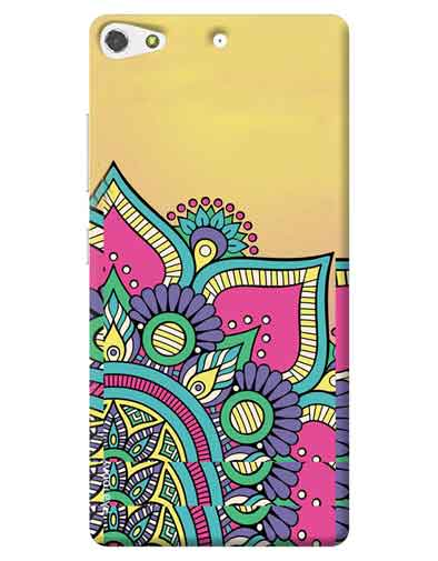 Abstract Gionee S7 Mobile Cover