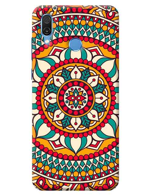Abstract Honor Play Mobile Cover