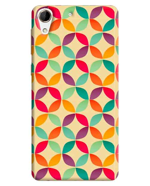 Abstract HTC Desire 728 Mobile Cover