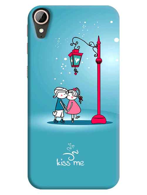 Kiss Me HTC Desire 830 Mobile Cover