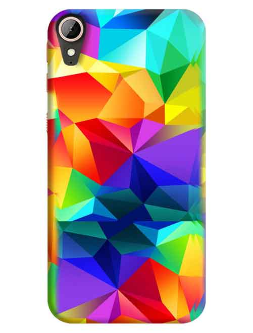 Colorful Abstract HTC Desire 830 Mobile Cover