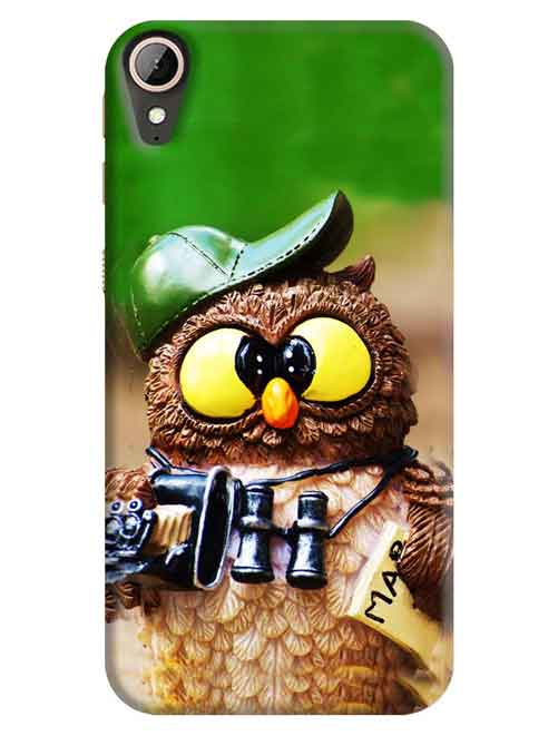Owl HTC Desire 830 Mobile Cover