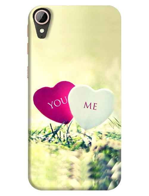 You and Me HTC Desire 830 Mobile Cover