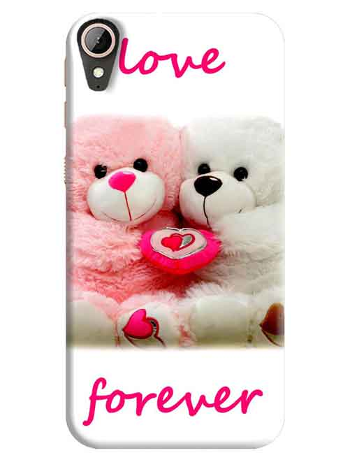 Love Forever with Teddy HTC Desire 830 Mobile Cover