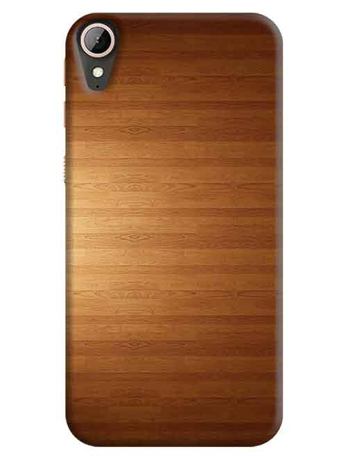 Wooden HTC Desire 830 Mobile Cover