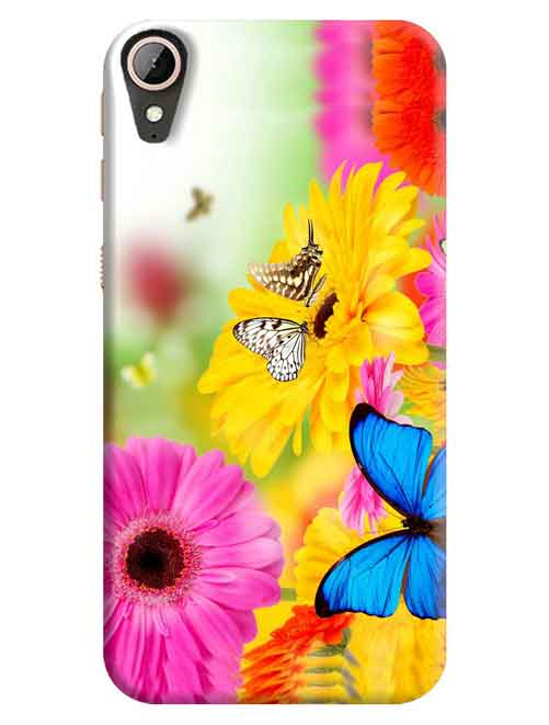 Floral HTC Desire 830 Mobile Cover