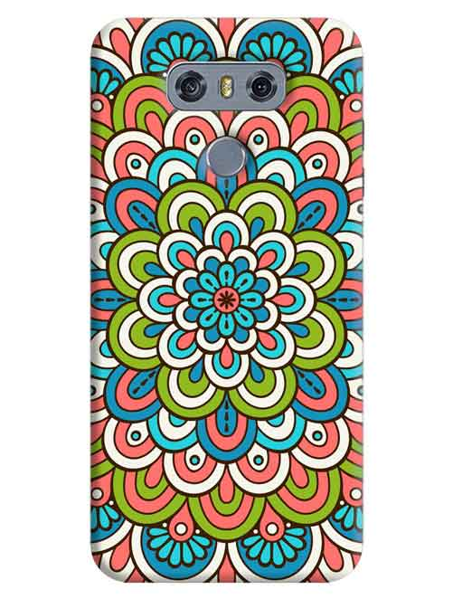 Rangoli Patterns LG G6 Mobile Cover