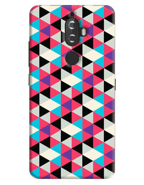 Abstract Lenovo K8 Plus Mobile Cover