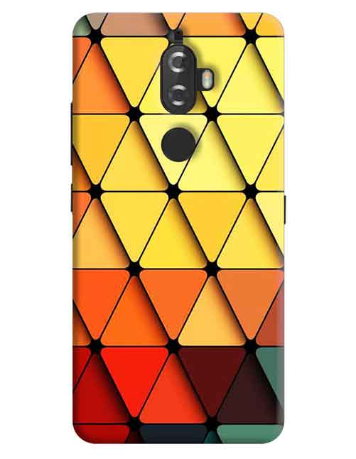Triangle Abstract Lenovo K8 Plus Mobile Cover