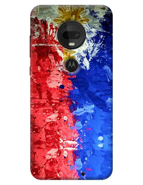 Abstract Moto G7 Mobile Cover