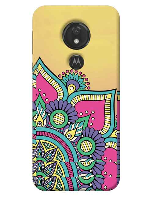 Abstract Moto G7 Power Mobile Cover