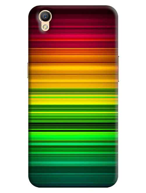 Abstract Oppo A37 Mobile Cover