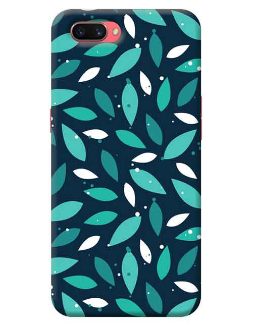 Abstract Oppo A3s Mobile Cover