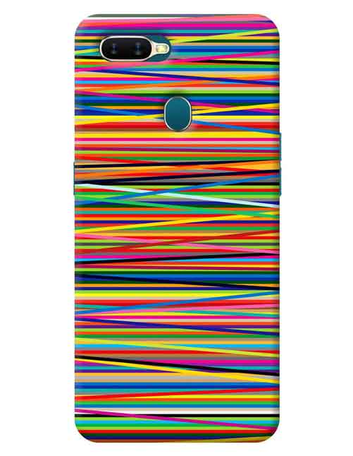 Abstract Oppo A5s Mobile Cover