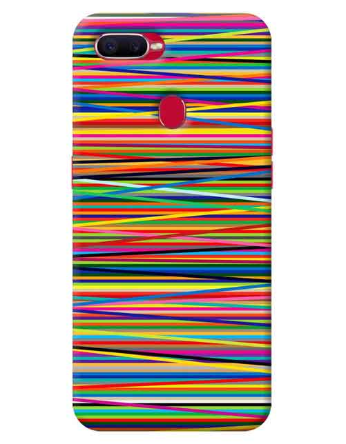 Abstract Realme 2 Pro Mobile Cover