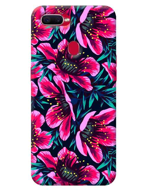 Floral Oppo F9 Mobile Cover
