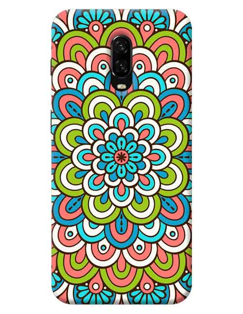 Rangoli Patterns OnePlus 7 Mobile Cover