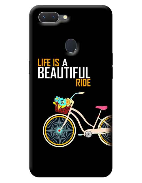 Life is a Beautiful Ride Oppo A5 Mobile Cover