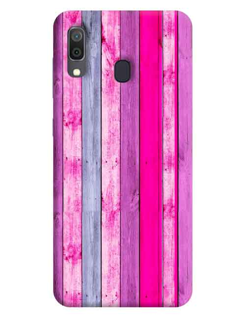Abstract Samsung Galaxy A20 Mobile Cover
