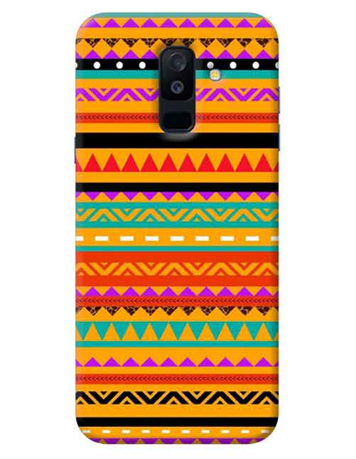 Abstract Samsung Galaxy A6 Plus Mobile Cover
