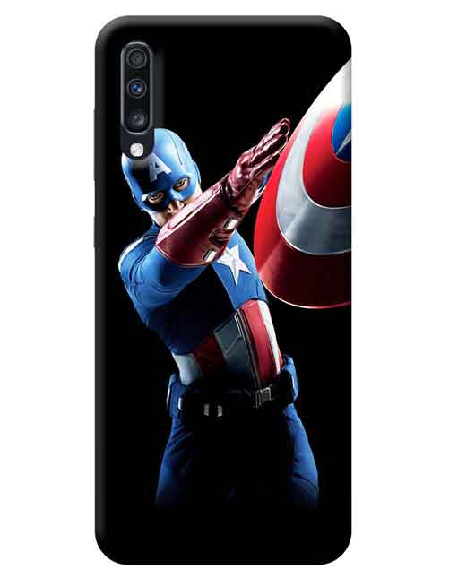 Captain America The Avengers Samsung Galaxy A70 Mobile Cover