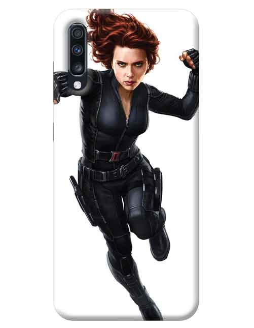 Avengers Black Widow Samsung Galaxy A70 Mobile Cover