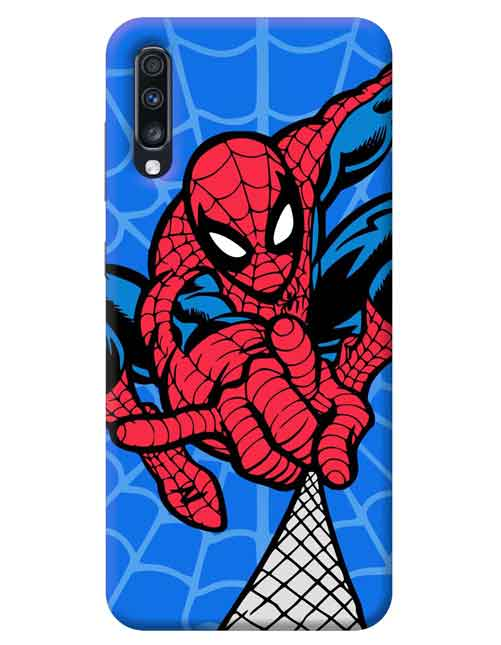 Spiderman Superhero Samsung Galaxy A70 Mobile Cover