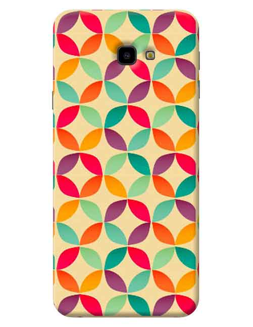 Abstract Samsung Galaxy J4 Plus Mobile Cover