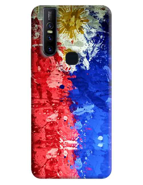 Abstract Vivo V15 Mobile Cover
