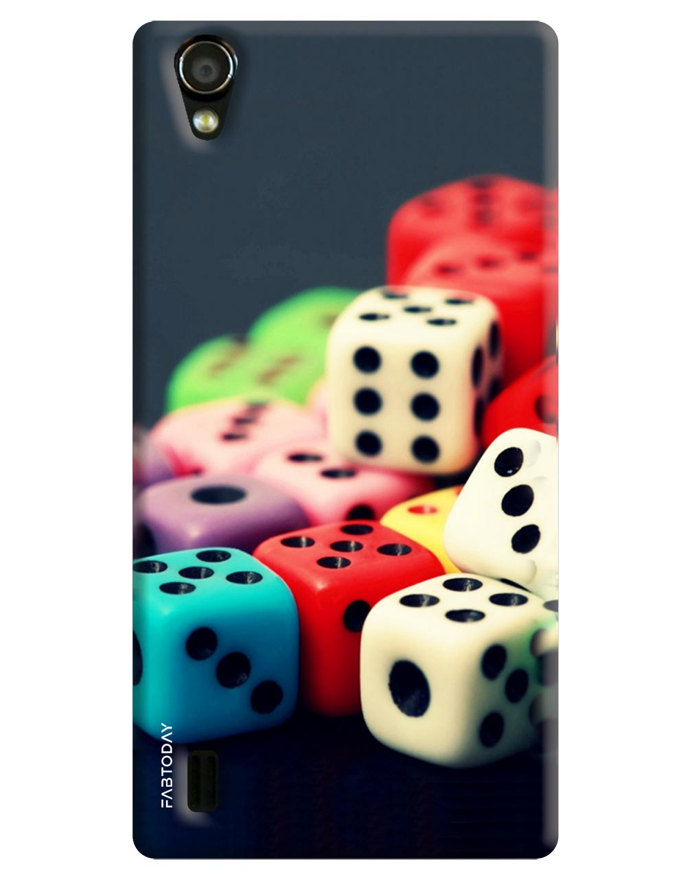 Dice Back Cover for Vivo Y15