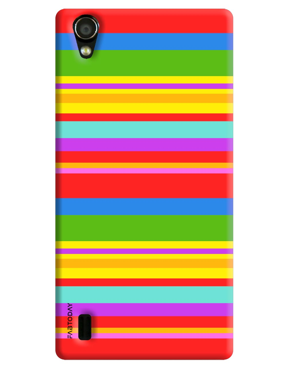 Abstract Back Cover for Vivo Y15