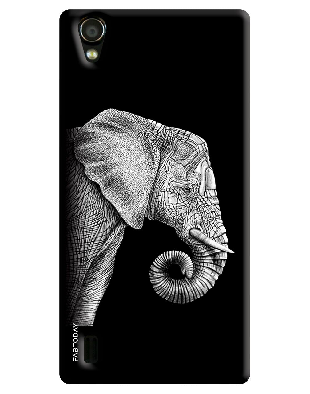 Elephant Back Cover for Vivo Y15