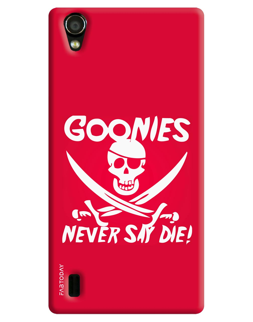 Gonnies Never Say Die Back Cover for Vivo Y15
