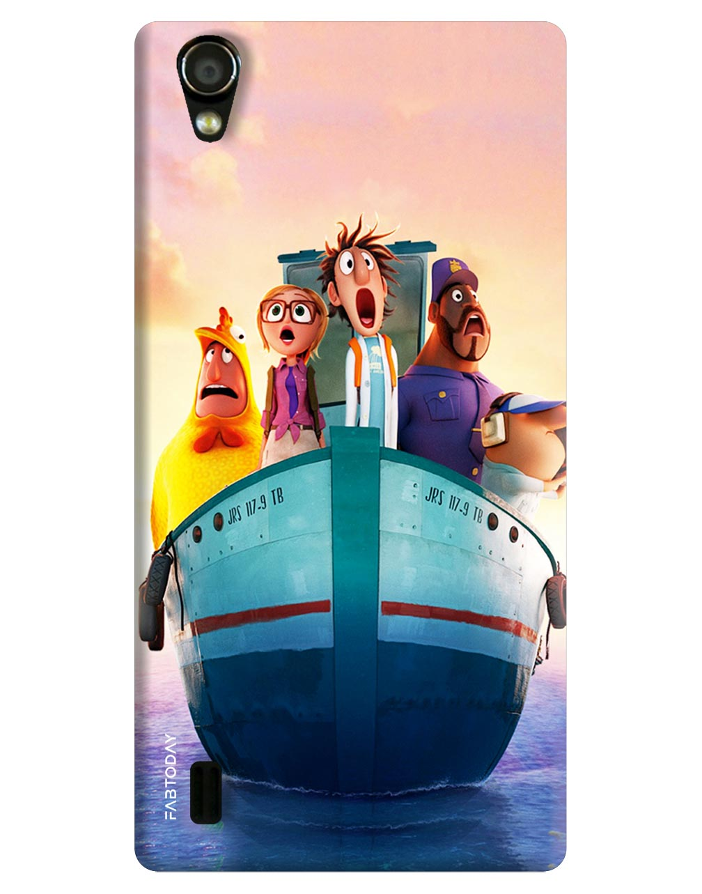 Cartoons Back Cover for Vivo Y15