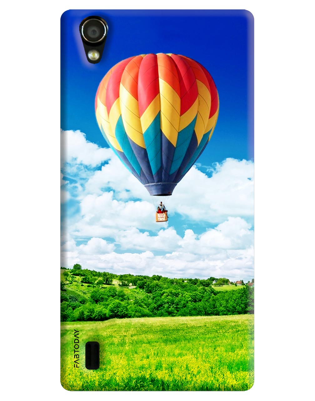Hot Air Balloons Back Cover for Vivo Y15