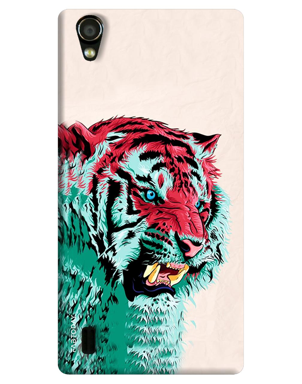 Tiger Back Cover for Vivo Y15