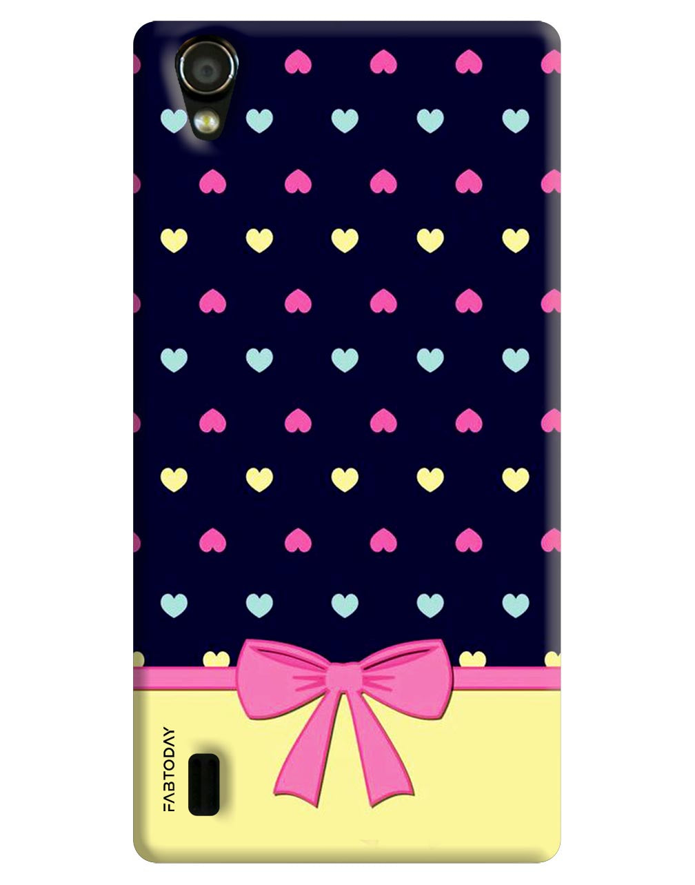Heart Back Cover for Vivo Y15