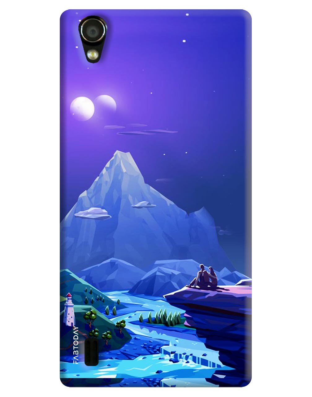 Nature Back Cover for Vivo Y15