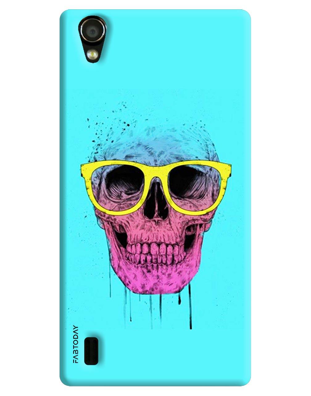 Cartoon Back Cover for Vivo Y15
