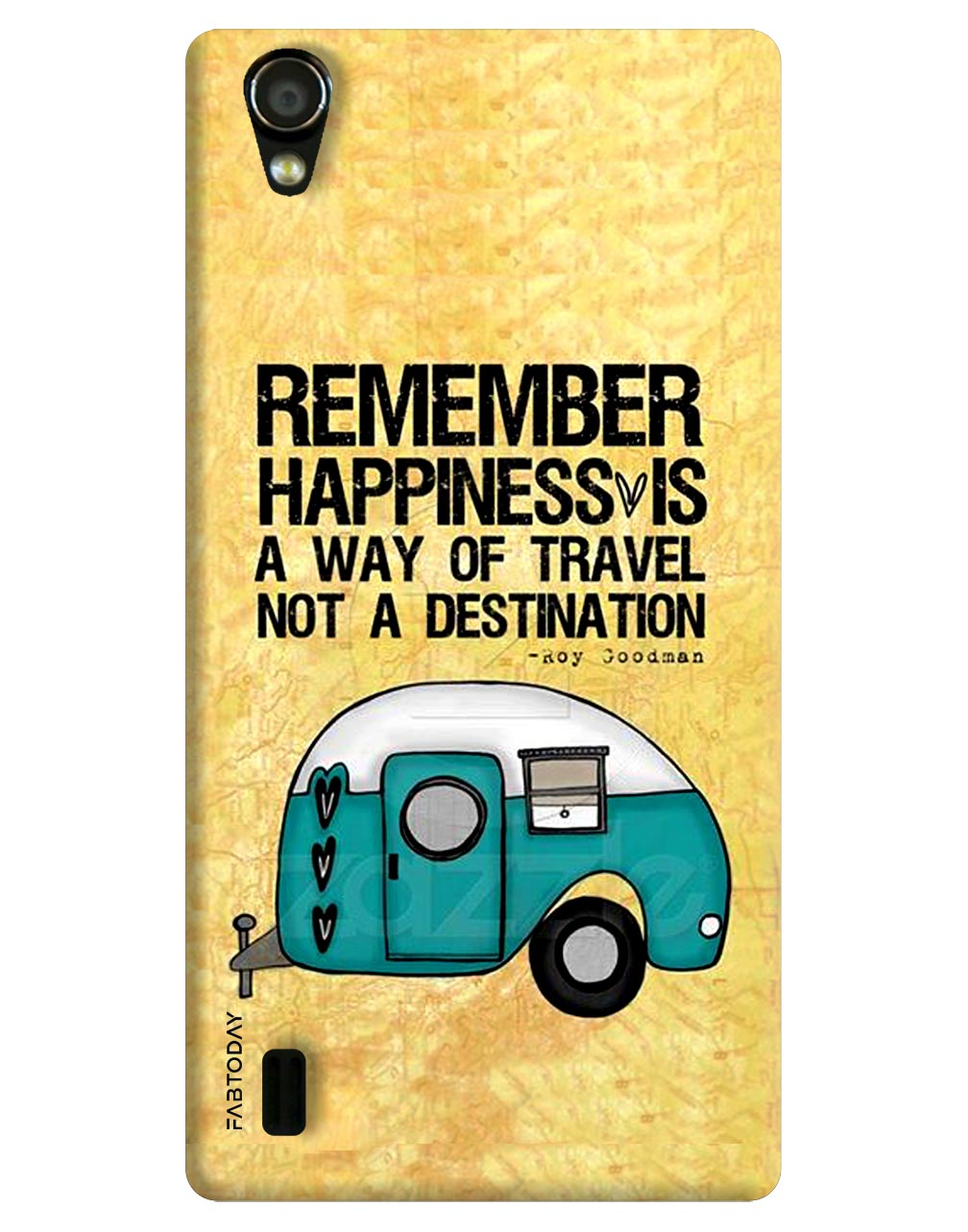 Happiness Back Cover for Vivo Y15
