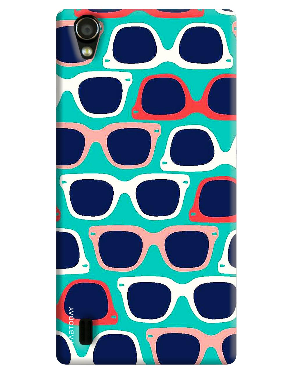 Spectacles Back Cover for Vivo Y15