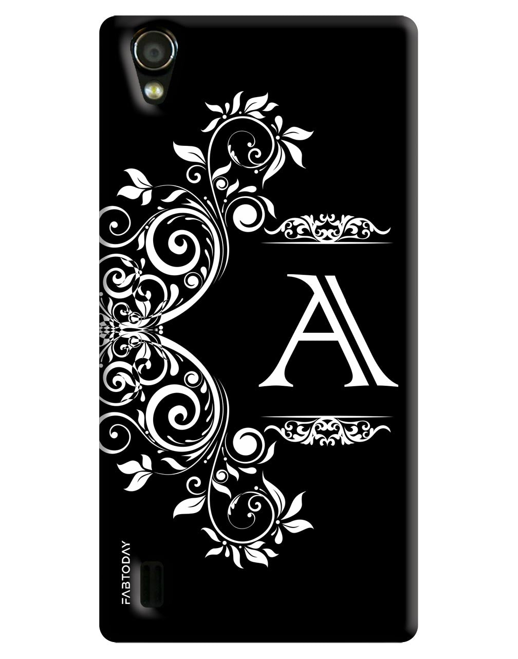 Alphabets - A Back Cover for Vivo Y15