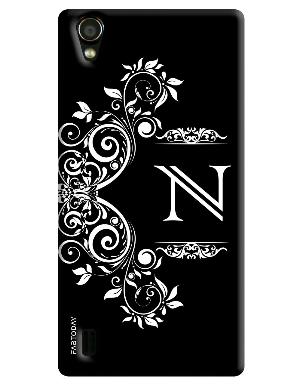 Alphabets - N Back Cover for Vivo Y15