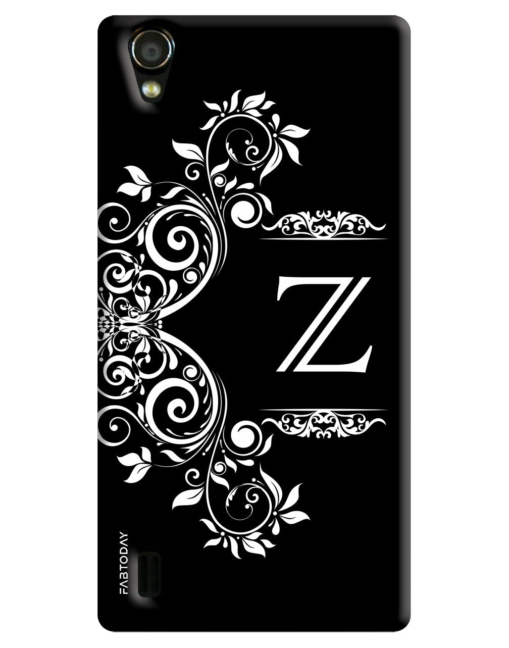 Alphabets - Z Back Cover for Vivo Y15