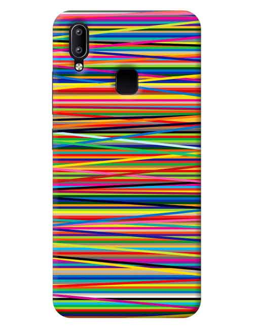 Abstract Vivo Y91 Mobile Cover