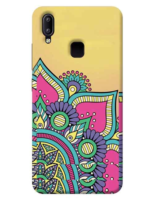 Abstract Vivo Y95 Mobile Cover