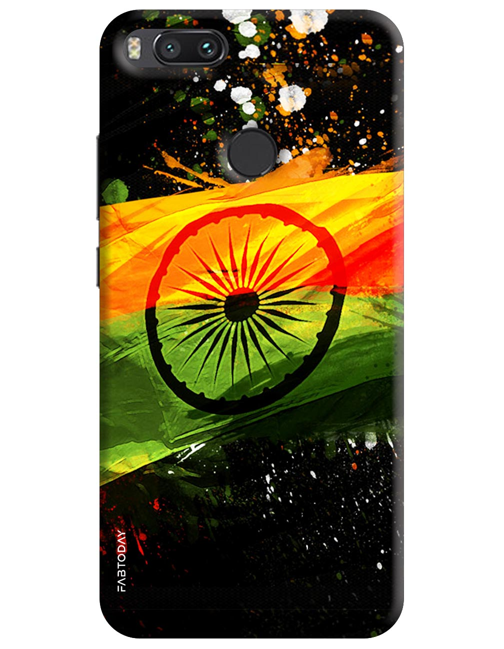 Indian Flag Back Cover for Xiaomi Mi A1