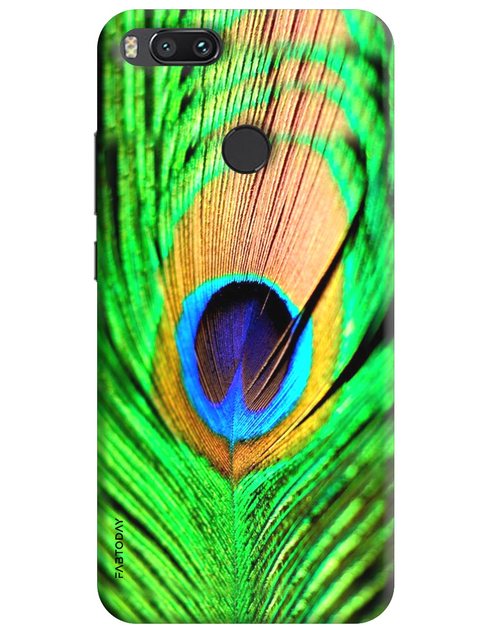 Peacock Back Cover for Xiaomi Mi A1